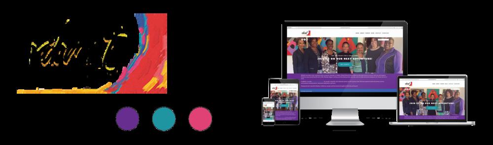 Vibrant Seniors Events website sample