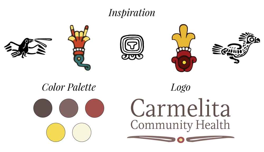Carmelita Community Health - inspiration and color palette