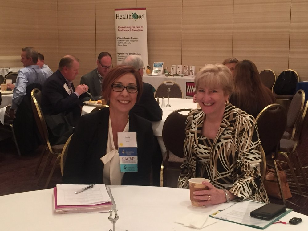 Jamie Silva-Steele CEO, UNM Sandoval Regional Medical Center    Dr. Barbara McAneny, CEO – NM Cancer Center
