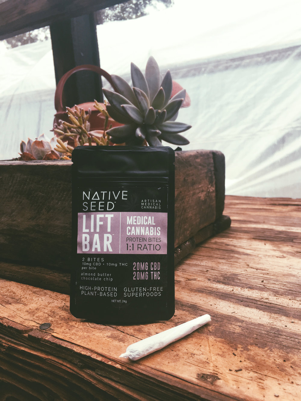 CANNABIS INFUSED PROTEIN BARS - FOR YOUR ENDOCANNABINOID SYSTEM