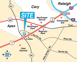 We are located at Suite 100 in of Pine Hill Business Center.