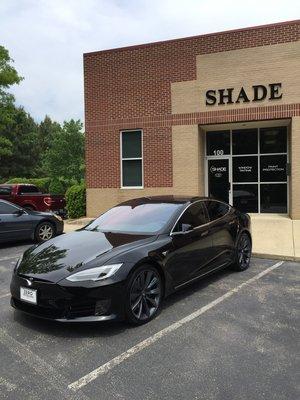 Shade Custom Tint Window Tinting Apex Cary Raleigh Nc