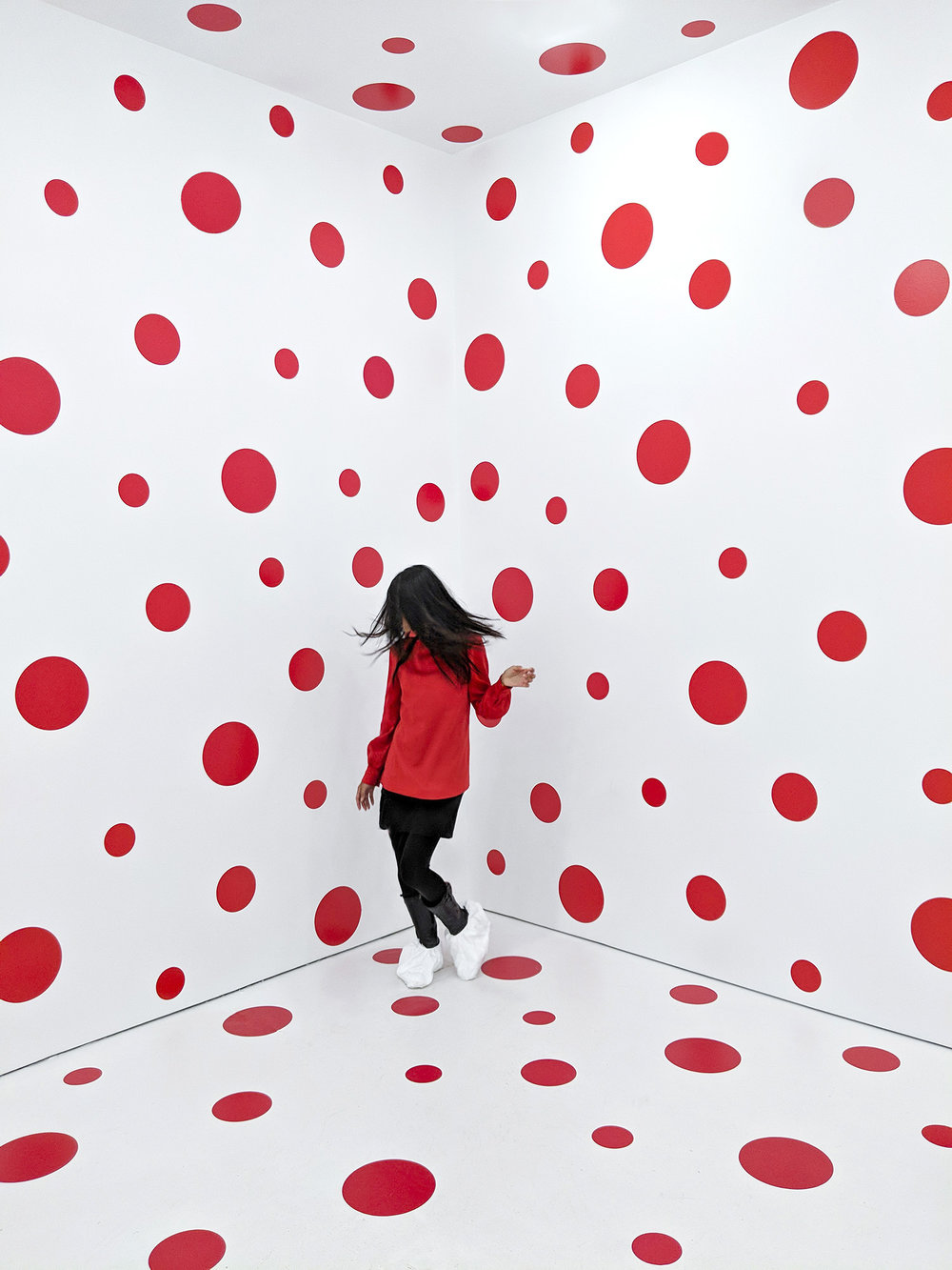 Pixel 2 and Yayoi Kusama - All photos #shotonpixel2