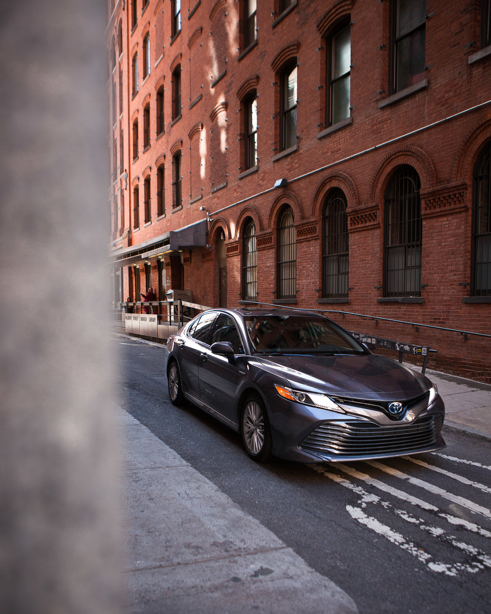 Showcasing the 2018 Camry as a work of art in New York City  -