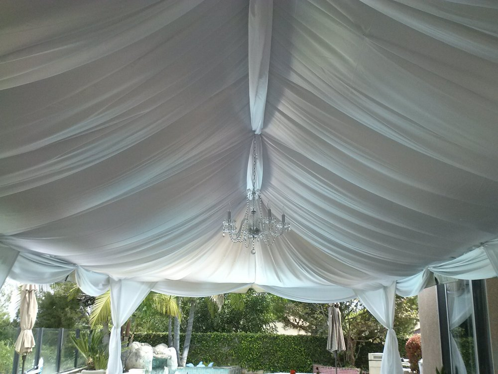 tent-drapery-rental & Party Rentals Los AngelesDecor Rentals u2014 Opus Event Rentals