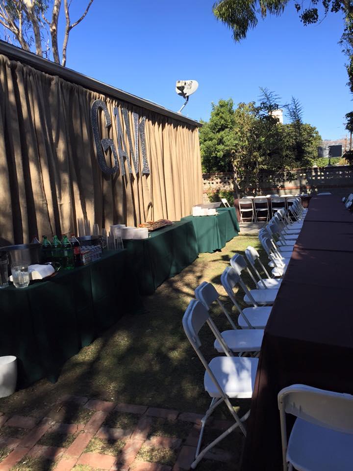 party rentals brea