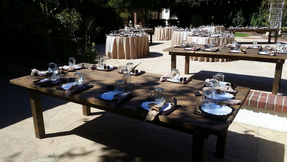 farm table rental anaheim
