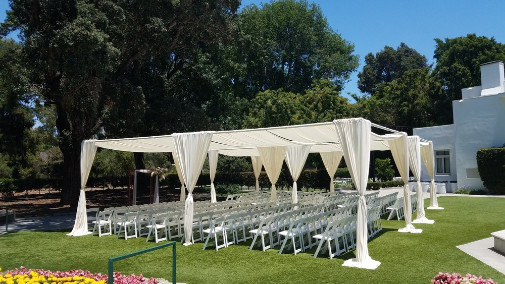 fabric tent rentals long beach