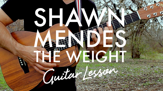 Shawn Mendes The Weight Chordistry