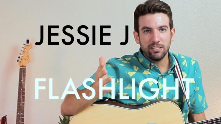 Jessie J Flashlight Chordistry