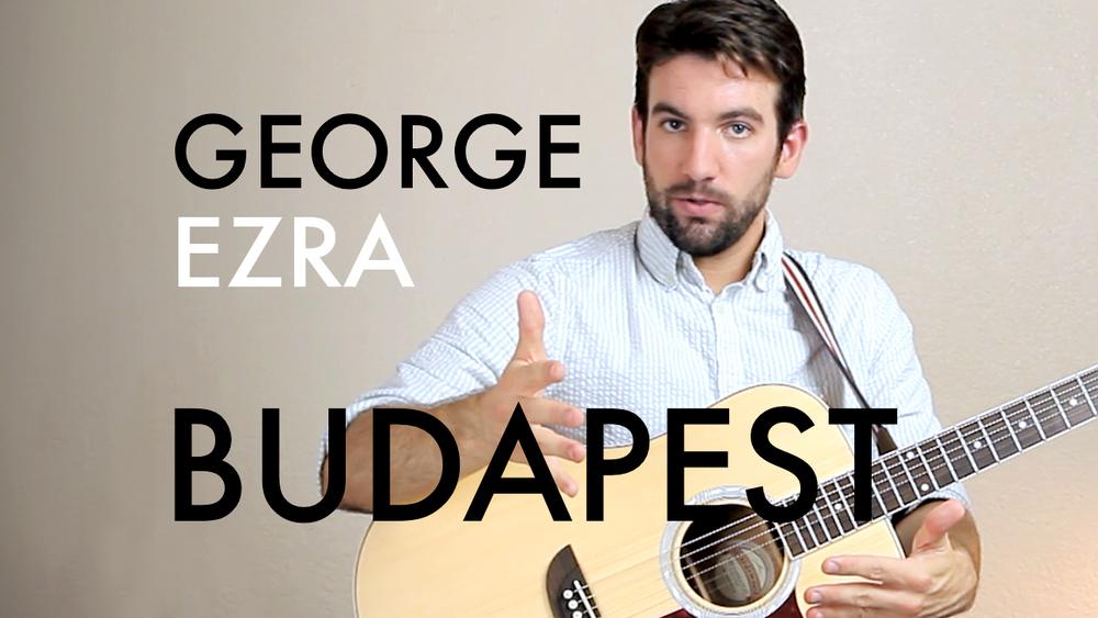 George Ezra Budapest Chordistry