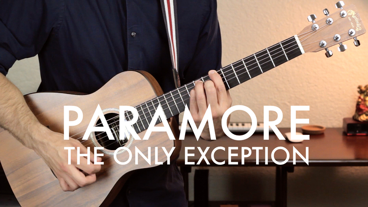 Paramore The Only Exception Chordistry