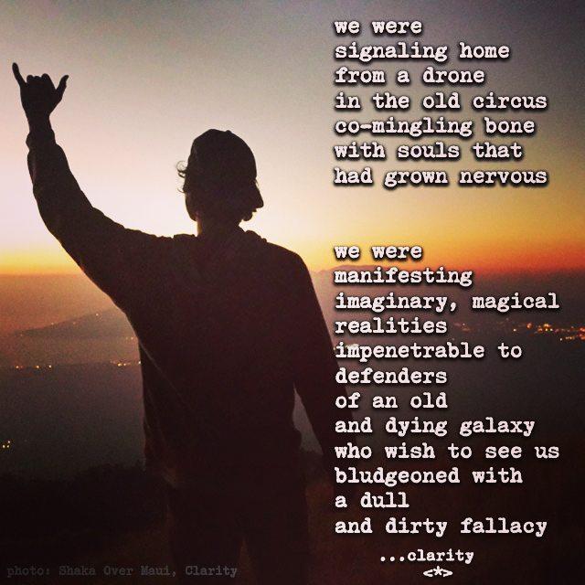 with the homie @Dan Lofland high atop #polipoli signaling #home with a #shaka for the #galaxy  #maui #changeeverything #brandnewhuman #newworld #lettheoldworlddie #imaginationovereverything #magicalreality #createyourreality #magicdoor #secretpassage #poem #Poetry #poetsofig #poetsofinstagram #poetryclub #poetry #poetrycommunity #mauinokaoi #newmusepoet #claritypoetry