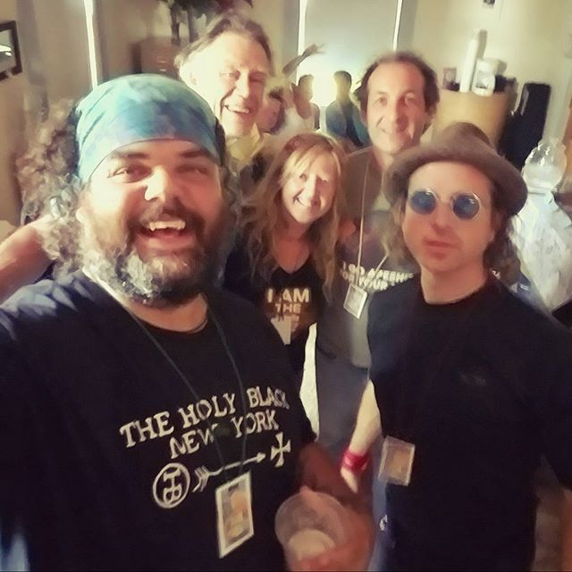 Backstage with the rest of the Poetry Crashers at Ridgestock 2017. Bout to shout words at people... #poetryeverywhere #poetrycrashers #ridgestock