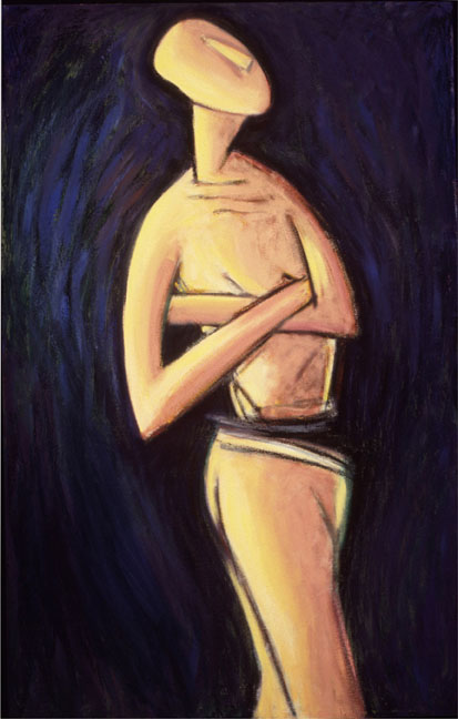 Variations: Cycladic Figure IV   1994
