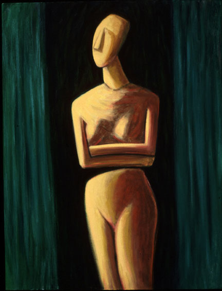 Variations: Cycladic Figure VIIII  1996