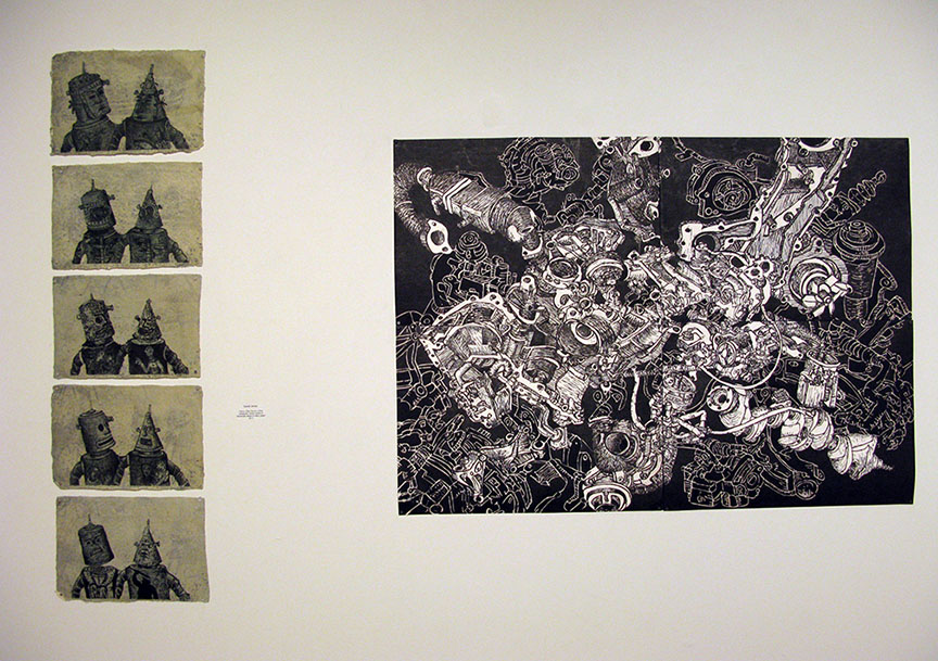 Confluence/Undercurrents, 2014. Illinois Wesleyan University, Merwin Gallery, Bloomington, IL