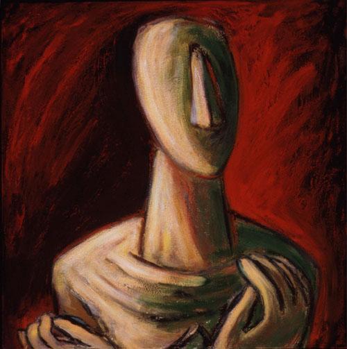 Cycladic Portrait I