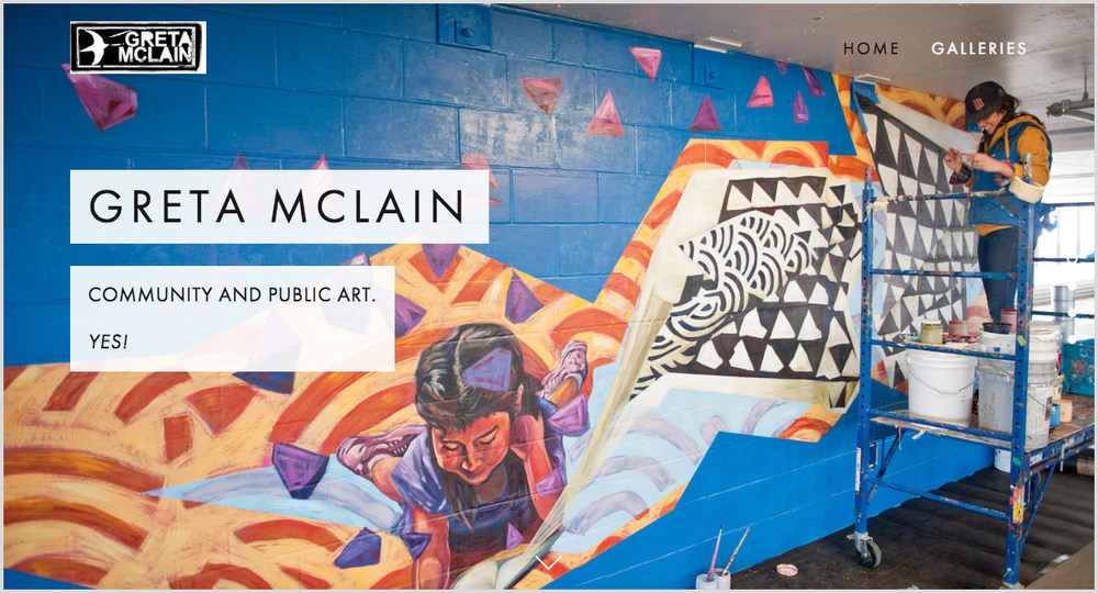 (2015) ARTIST WEBSITE : GRETA MCLAIN
