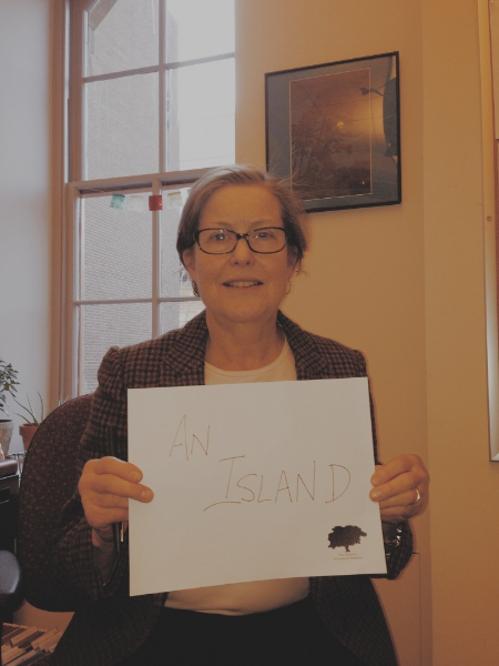 "For environmental history professor Dr. Ann Greene, the Earth is ""an island."""