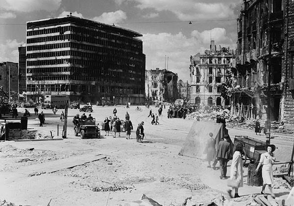Potsdamer Platz in 1945 Image Source