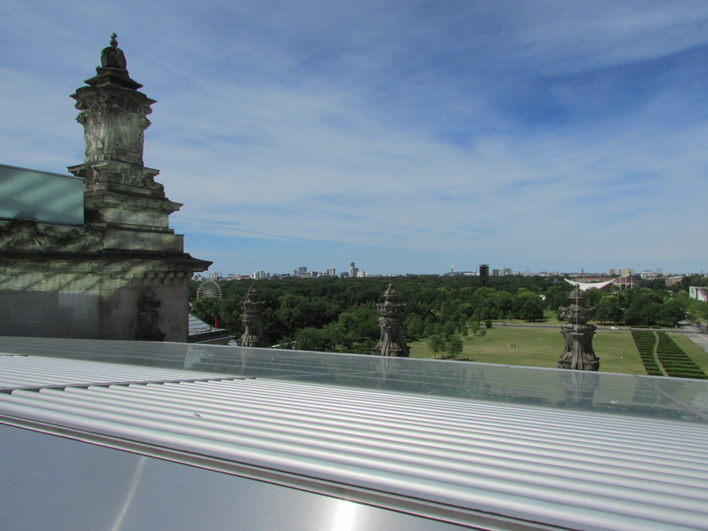 View from the Reichstag roof