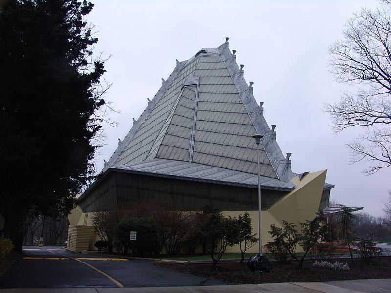 Beth Sholom Synagogue by Frank Lloyd Wright Image Source