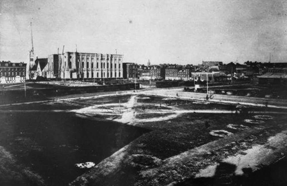 1871 Historic Photo Prior to Construction of City Hall