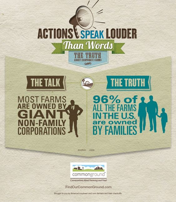 Figure 2: Poster from CommonGround, an organization of farmers dedicated to educating the public about large-scale practices.  Source: CommonGround.