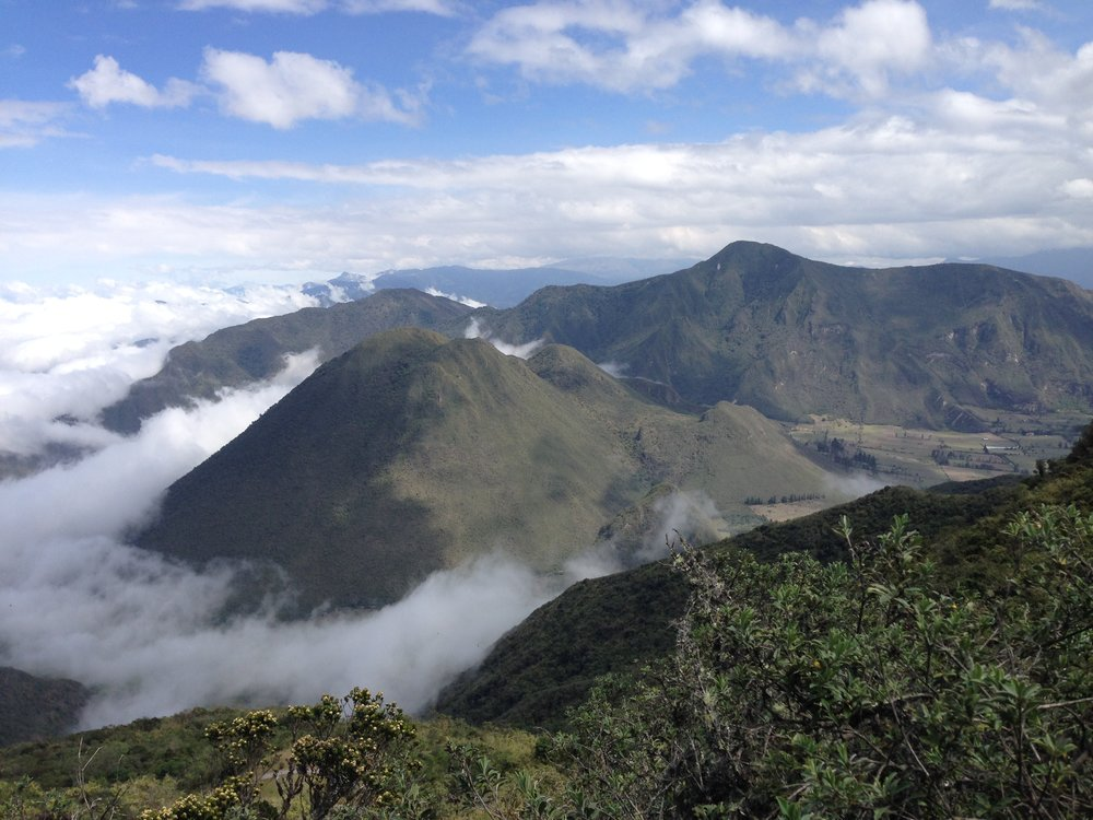 Pululuahua volcanic caldera, Ecuador (Photo credit: Shereen Chang)
