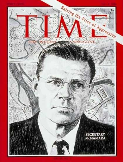 U.S. Secretary of State Robert McNamara, Time, July 1966
