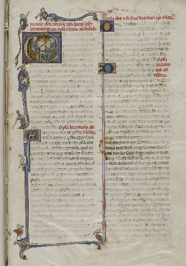 Liber ethimologiarum. Rare Book and Manuscript Library, University of Pennsylvania LJS 184.