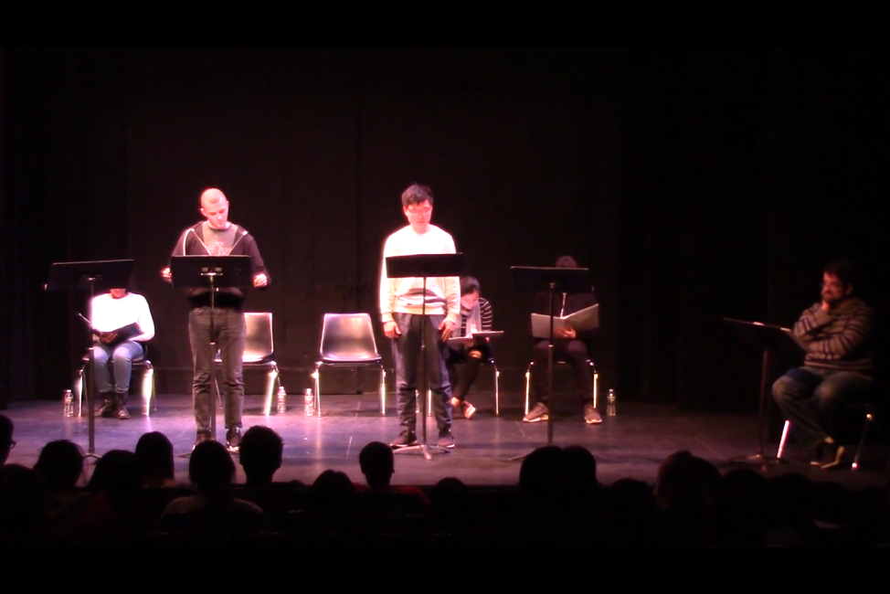 A staged reading of Chung's play featuring PPEH Fellow Carlos Price-Sanchez