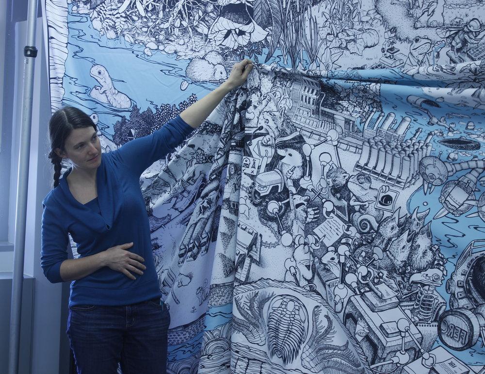 Bri Barton, Co-illustrator for  Waterways