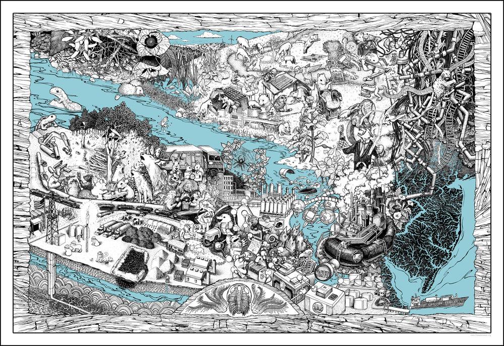 Waterways  by Meg Lemieur and Bri Barton