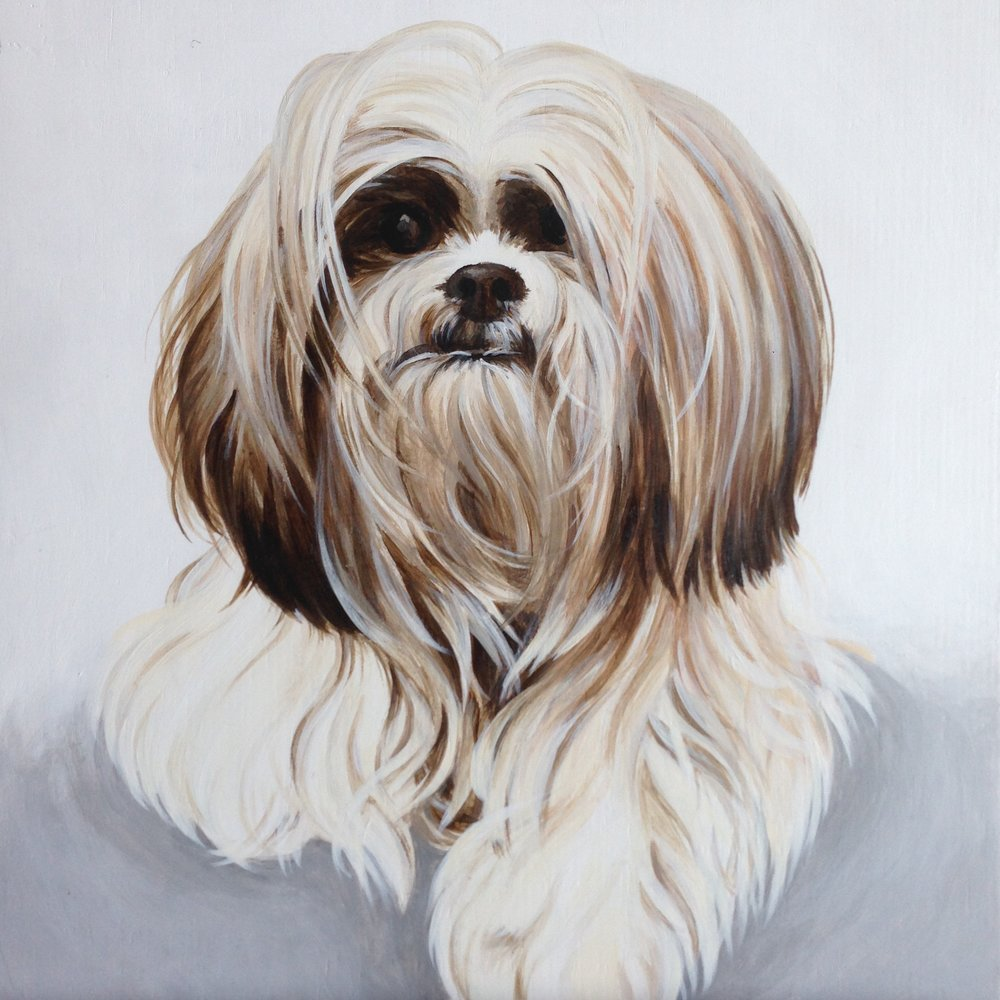 Muffin, painted for Sunita