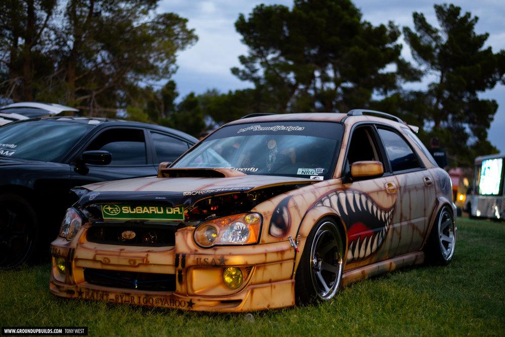 Subaru WRX Wagon Ivan Tarula Ground Up - Car shows this weekend near me