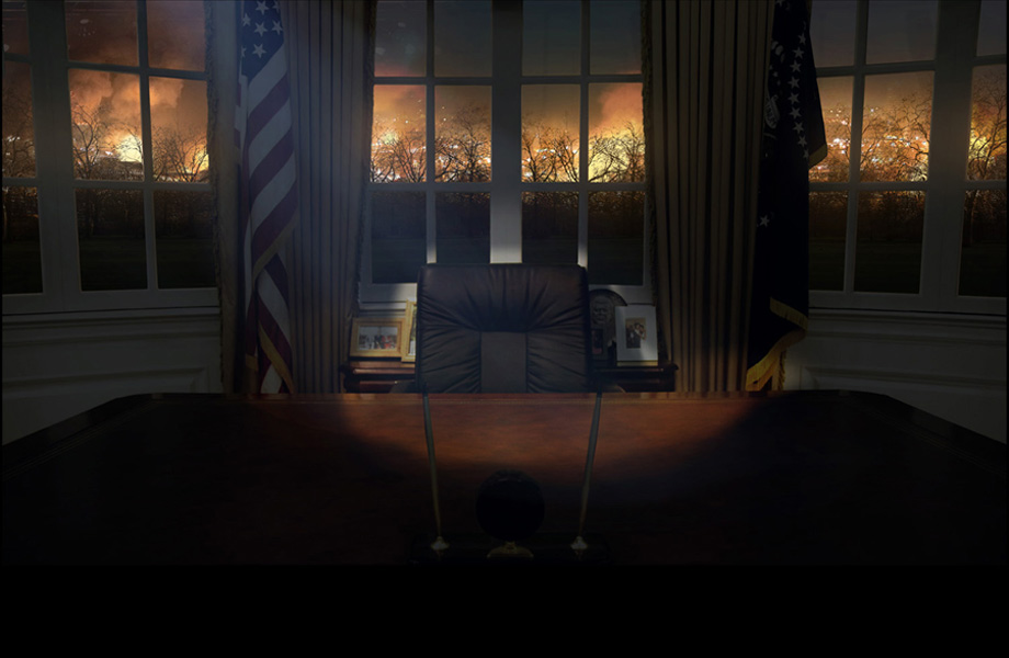 Oval Office final painting