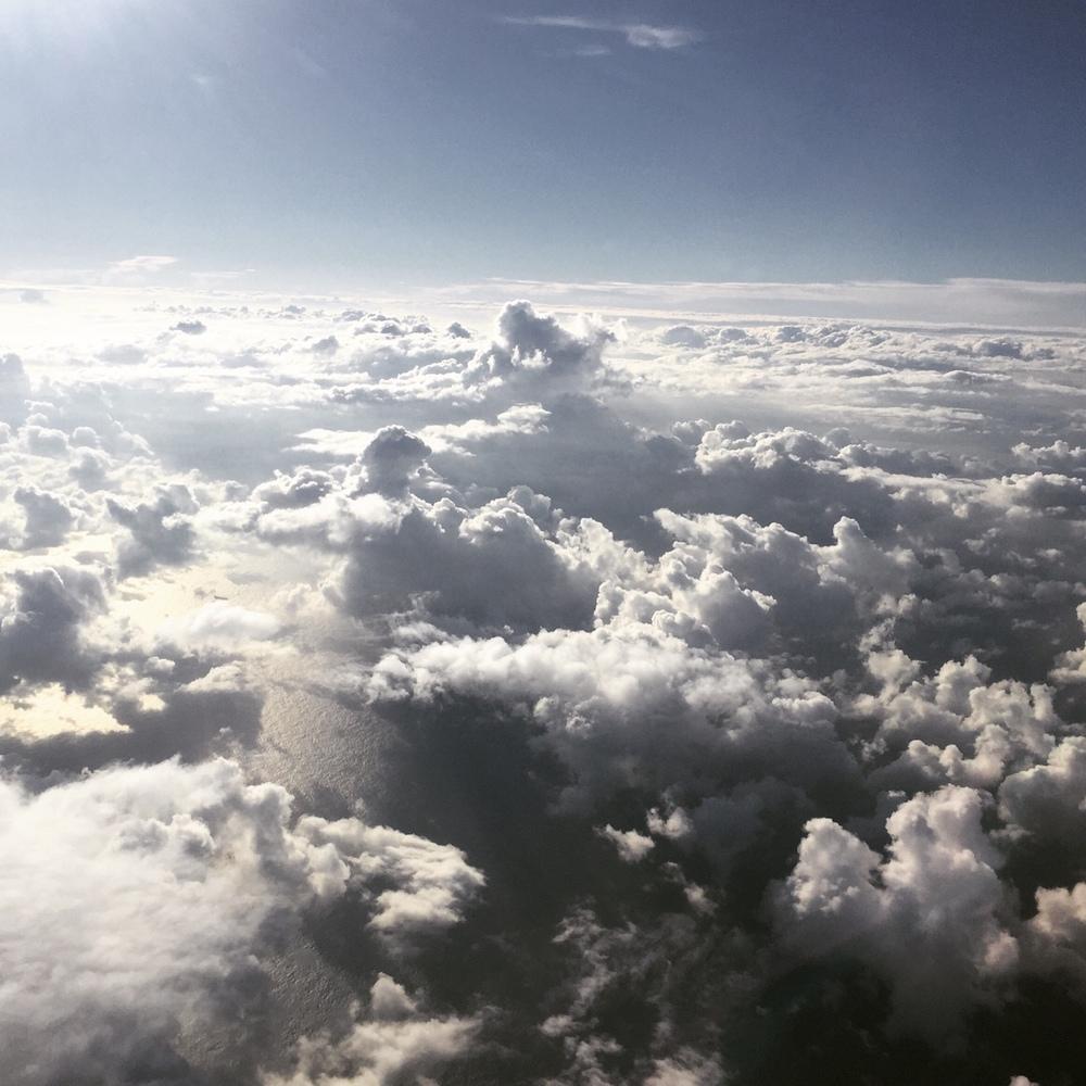 Miyazaki clouds.