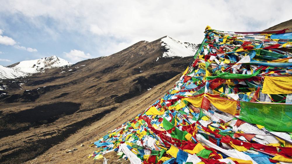 Mila Mountain, Tibet