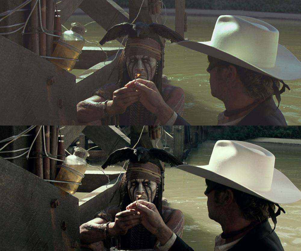 Tonto and John Bridge Explosion Sequence