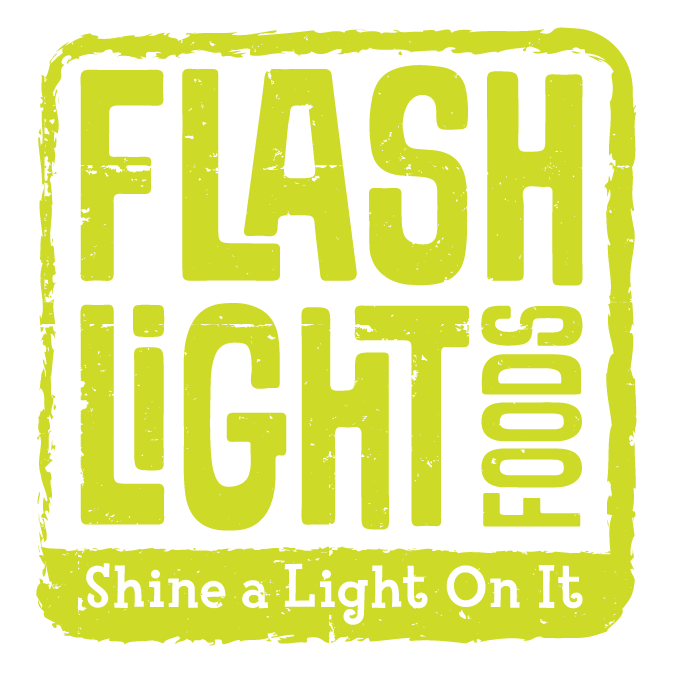 "Flashlight Foods-A kid-created, kid-owned, kid-run food company that ""shines a light"" on causes we care about."