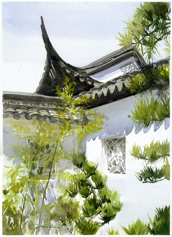 Chinese garden, 2012