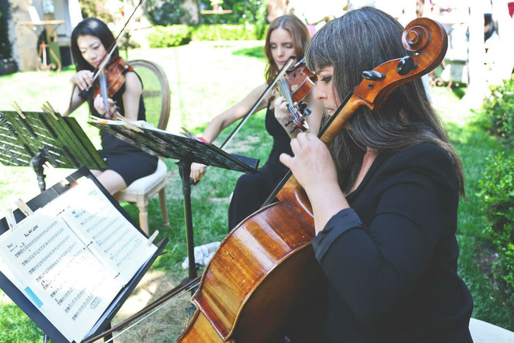 Los Angeles String Trio Violin Viola Cello Female