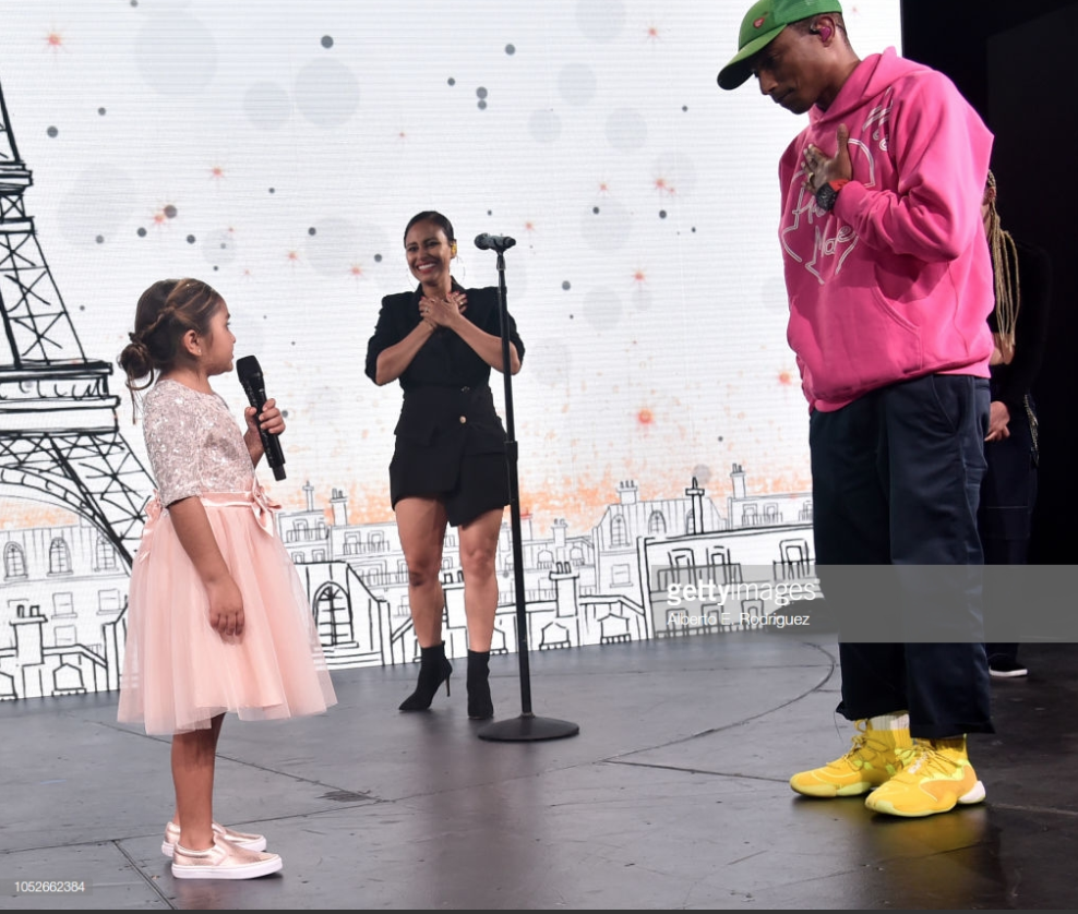 CHLA Gala 2018 Pharrell Williams and Eliana Georges 2.png