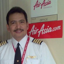 Captain Iriyanto, in a photo provided by his daughter, Angela Anggi Ranastianis