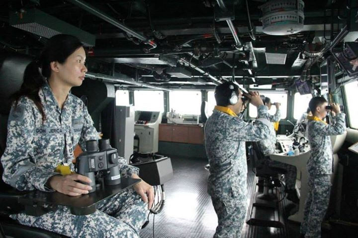 Five RSN ships have been deployed for the search operation - a frigate RSS Supreme, missile corvette RSS Valour and landing ship tank RSS Persistence for surface search, a mine countermeasure vessel RSS Kallang, MV Swift Rescue, as well as an Autonomous Underwater Vehicle (AUV) team to conduct underwater search