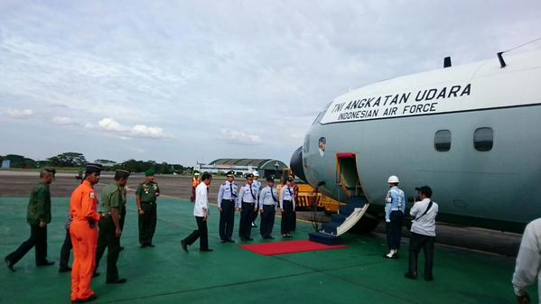 Indonesia president Joko Widodo is headed to Pangkalan Bun and is expected to speak soon, say reports