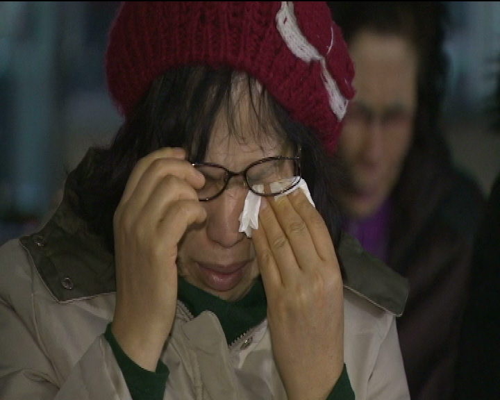 Tearful prayers for a South Korean missionary couple, on board QZ8501 with their 11-month-old daughter. South Korea is ready to send a military aircraft for the search, our Korea Bureau Lim Yun Suk reports