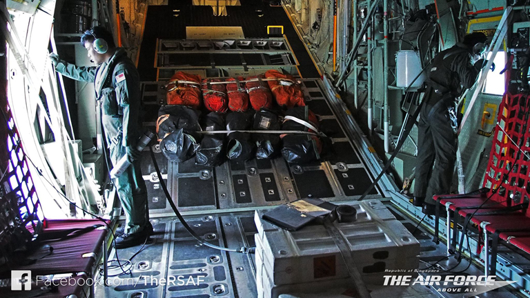 """It was tough as we were just looking at the endless waters, but we endured because it was important to us,"" said an air force engineer on board a C-130 aircraft, deployed by Singapore for the QZ8501 search"